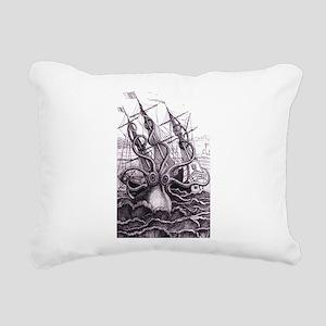 Kraken Rectangular Canvas Pillow