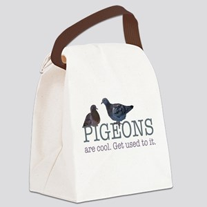 Pigeons are cool Canvas Lunch Bag