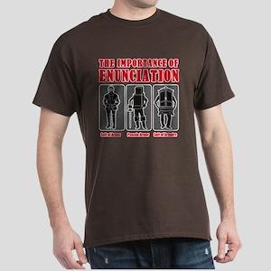 Enunciation Dark T-Shirt