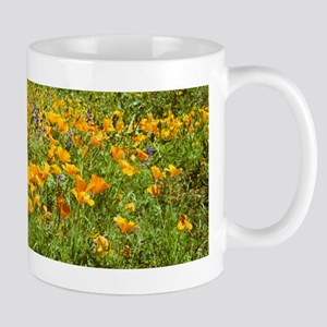Picacho Peak Gold Poppies Mug