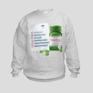 Widespread Disorder Kids Sweatshirt
