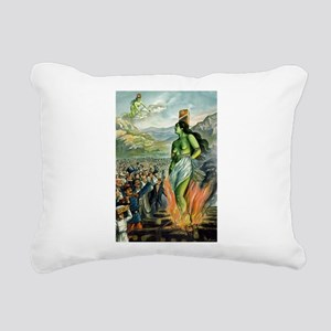 Death of the Green Fairy Rectangular Canvas Pillow