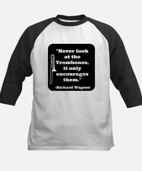 Trombone Wagner quote Kids Baseball Jersey