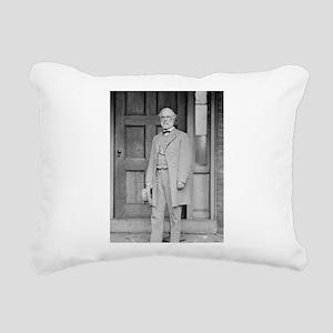 Gen Robert E Lee Rectangular Canvas Pillow
