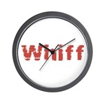Whiff Wall Clock