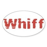 Whiff Sticker (Oval)
