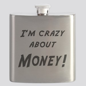 Im crazy about MONEY Flask