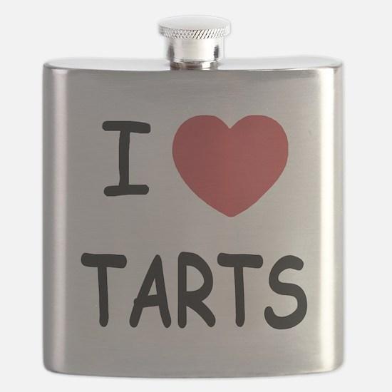 I heart tarts Flask