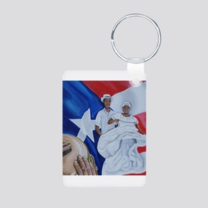 Bomba Aluminum Photo Keychain