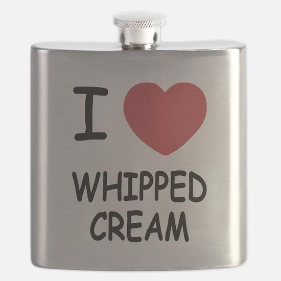 I heart Whipped Cream Flask