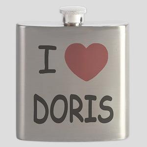 I heart Doris Flask