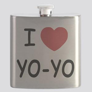 I heart Yo-Yo Flask