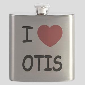 I heart Otis Flask