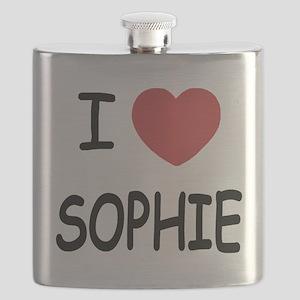 I heart Sophie Flask