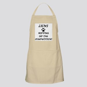 Ripping Up The Competition! BBQ Apron