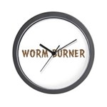 Worm Burner Wall Clock