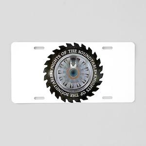KOTST Logo Aluminum License Plate