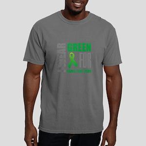 Green Awareness Ribbon C Mens Comfort Colors Shirt