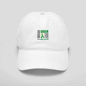 Green Awareness Ribbon Customized Cap