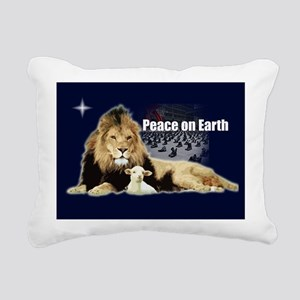 Peace on Earth for the Religi Rectangular Canvas P