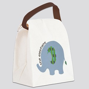 The Elephant Canvas Lunch Bag
