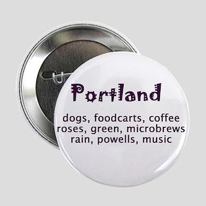 "portland Oregon 2.25"" Button"