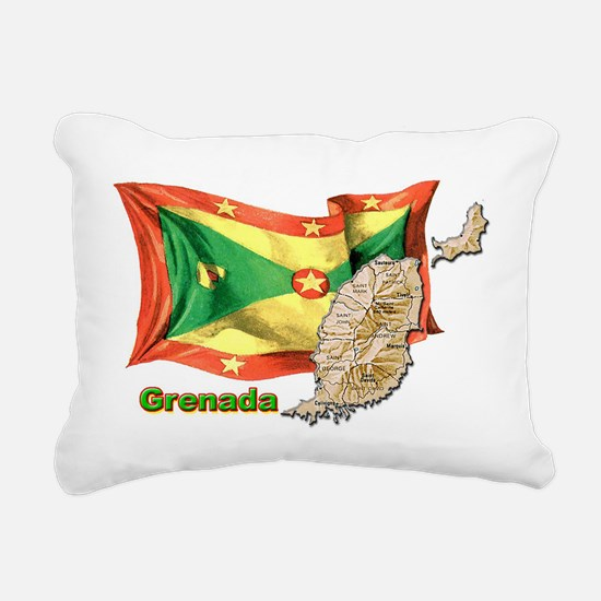 Grenada Rectangular Canvas Pillow