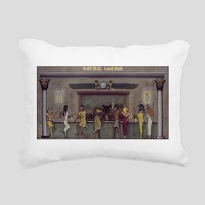Last Call Rectangular Canvas Pillow