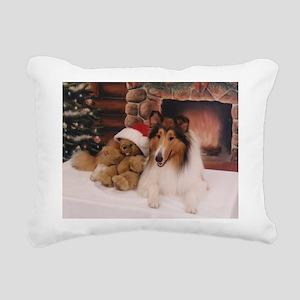 Collie Rectangular Canvas Pillow