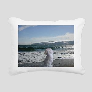 Fluff Butts Rectangular Canvas Pillow