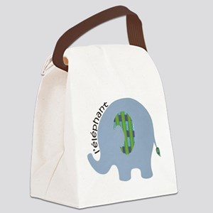 L'elephant Canvas Lunch Bag