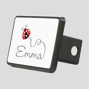 Ladybug Emma Rectangular Hitch Cover