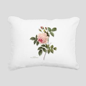 Tea Rose Rectangular Canvas Pillow