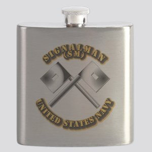Navy - Rate - SM Flask