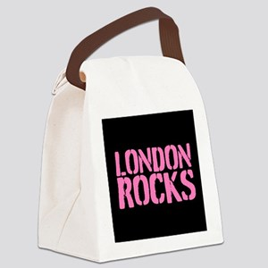 London Rocks Canvas Lunch Bag
