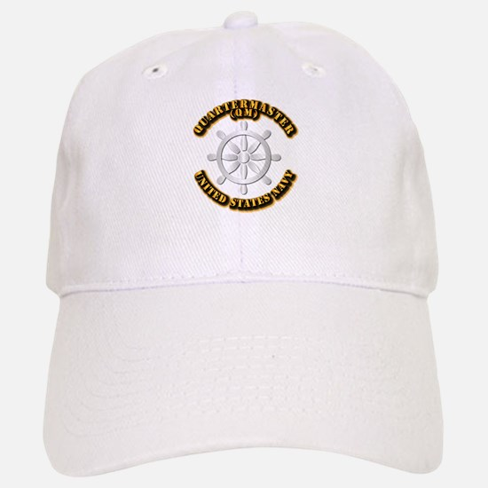 Navy - Rate - QM Baseball Baseball Cap