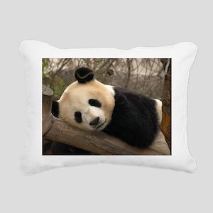 Ginat Panda 2 Rectangular Canvas Pillow