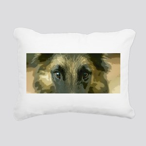 Eyes Rectangular Canvas Pillow