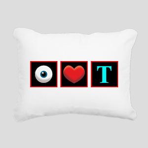 T Rectangular Canvas Pillow