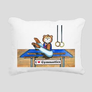 Male Gymnast Rectangular Canvas Pillow