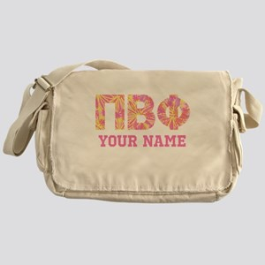 Pi Beta Phi Letters Messenger Bag