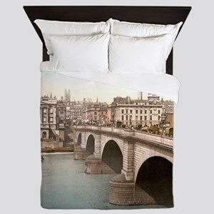 Vintage London Bridge Queen Duvet