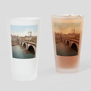 Vintage London Bridge Drinking Glass