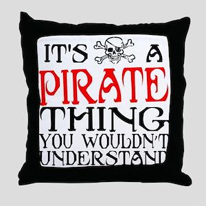 Pirate Thing Throw Pillow