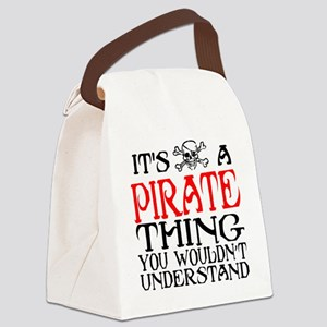 Pirate Thing Canvas Lunch Bag