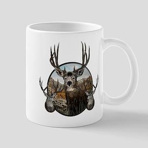 Mule deer oil painting Mug