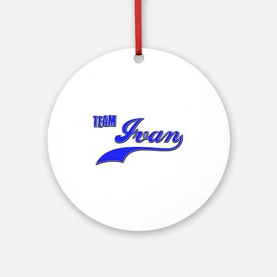 Team Ivan Ornament (Round)