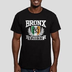 Bronx NY Irish Men's Fitted T-Shirt (dark)