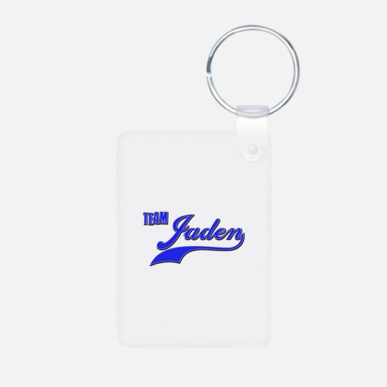 Team Jaden Aluminum Photo Keychain