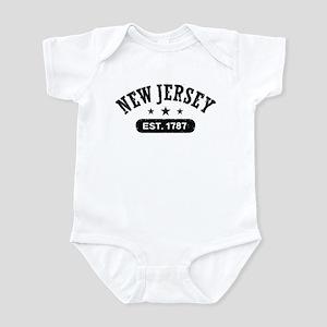 New Jersey Est. 1787 Infant Bodysuit